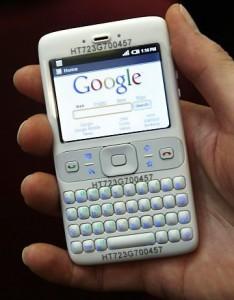 Celular do Google